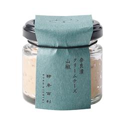 奈良漬クリームチーズ 山椒